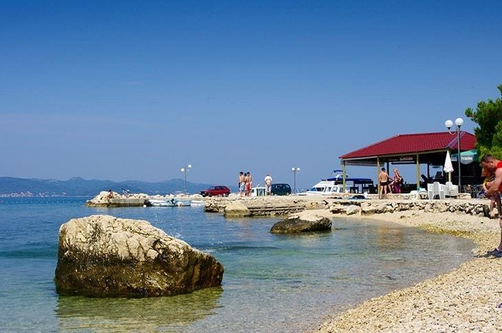 bibinje beach
