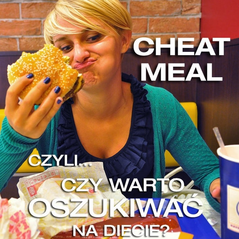 hamburger jako cheat meal