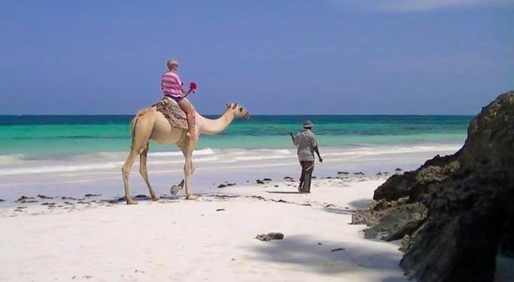baobab beach hotel plaża