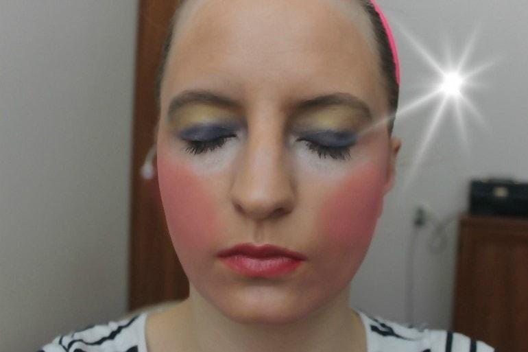 piekny makijaz