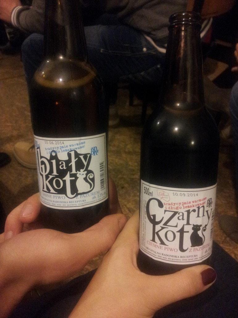 piwo biały kot nablogu lifestyle