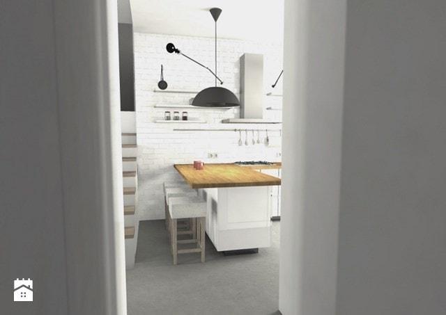 małe mieszkanie mała kuchnia