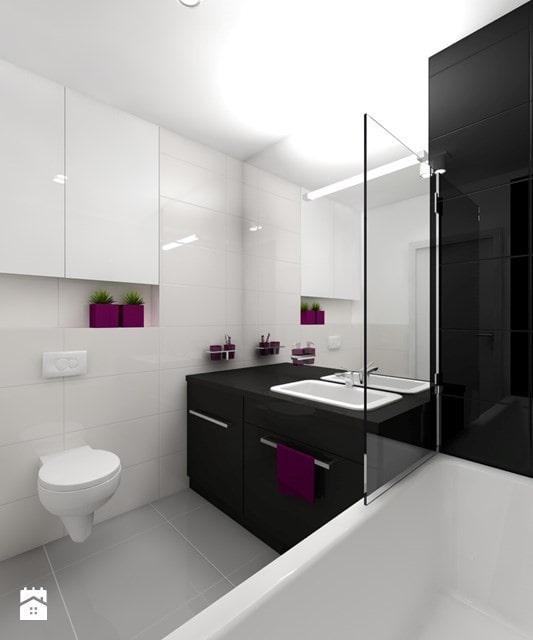 urocza mała łazienka