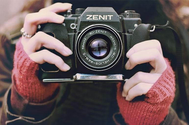 aparat dla blogerki