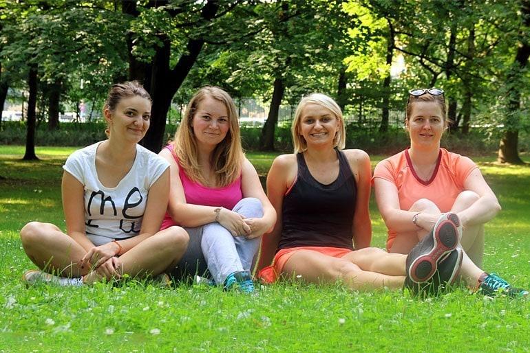 Uczestniczki Wakacyjnej Akcji Motywacyjnej 2014