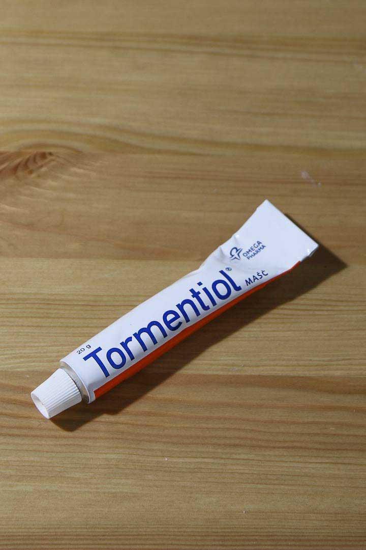 maść natrądzik hormonalny tormentiol