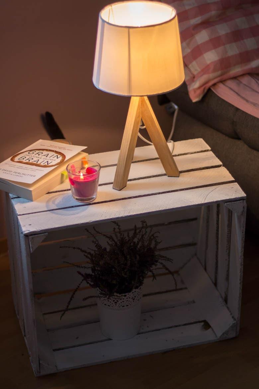 stolik nocny DIY