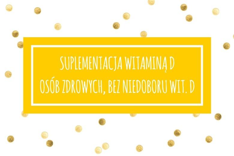 witamina d suplementacja