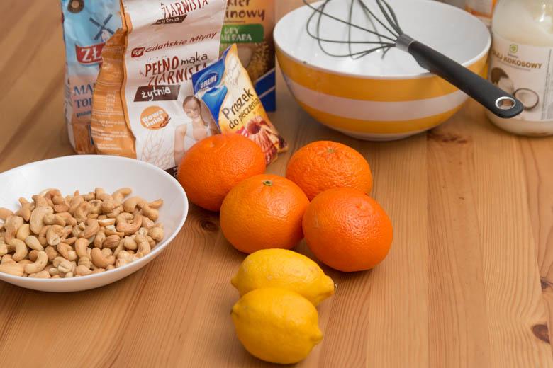 składniki namuffinki cytrynowe bezlaktozy