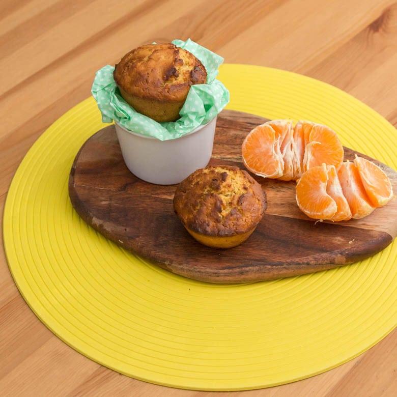 wegańskie muffinki cytrynowe