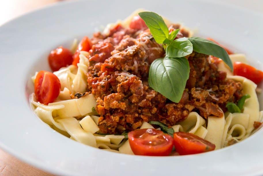 domowe spaghetti