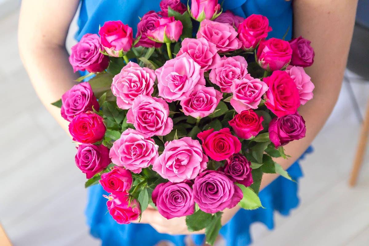 róże ombre