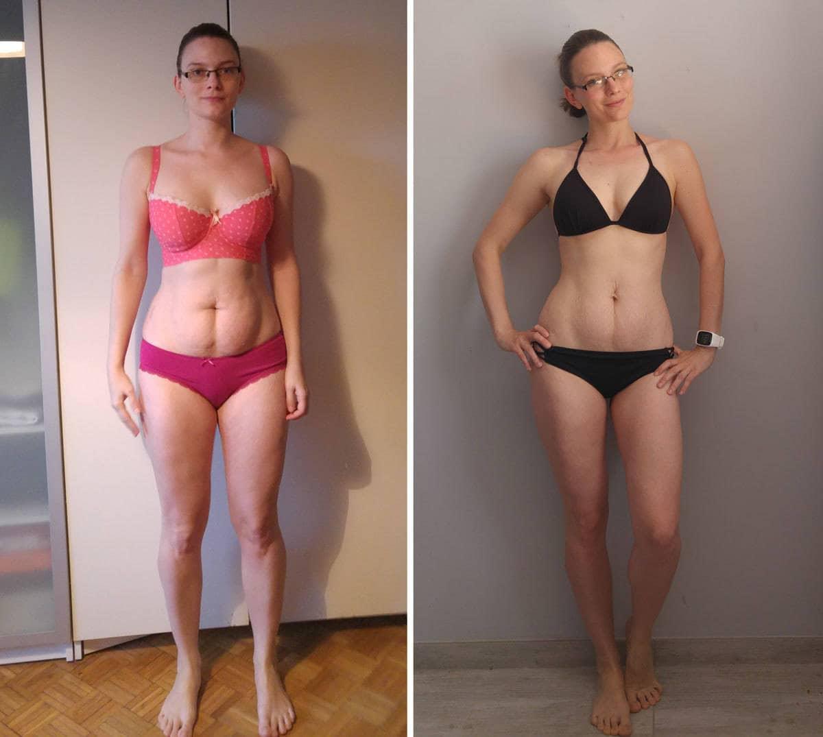 Jak schudnąć z wałków na plecach w 2 miesiące