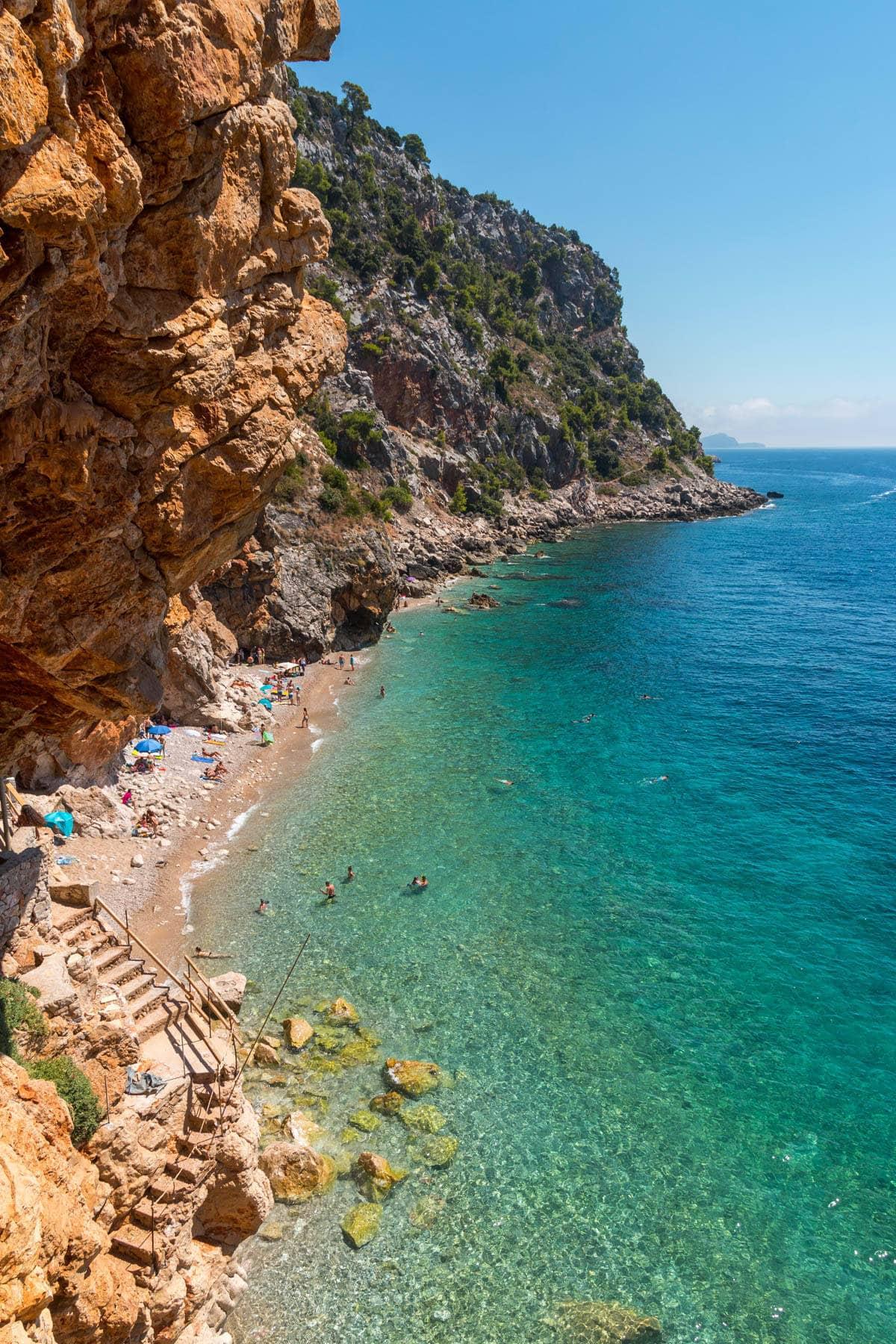 wakacje wchorwacji plaża pasjaca