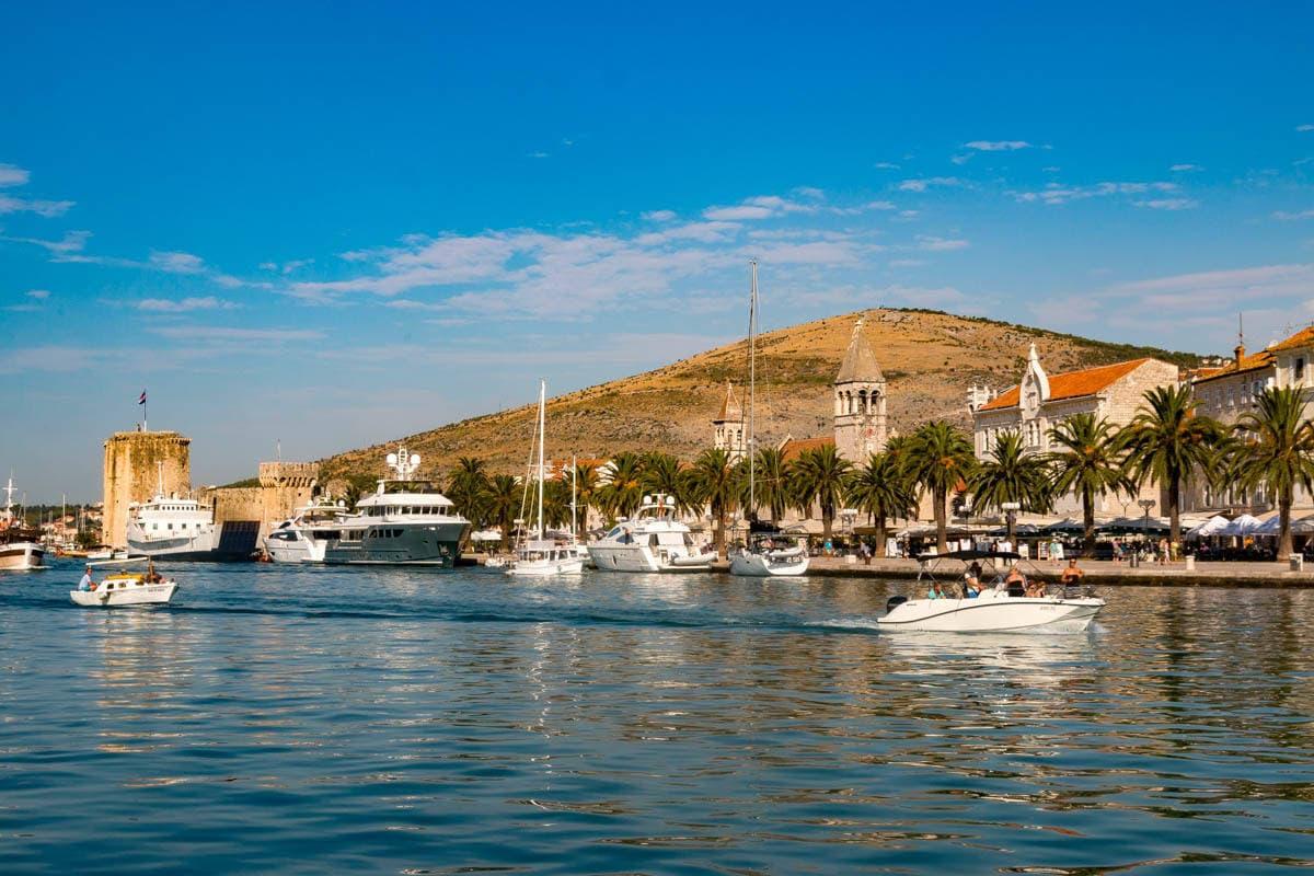 trogir port wycieczki morskie