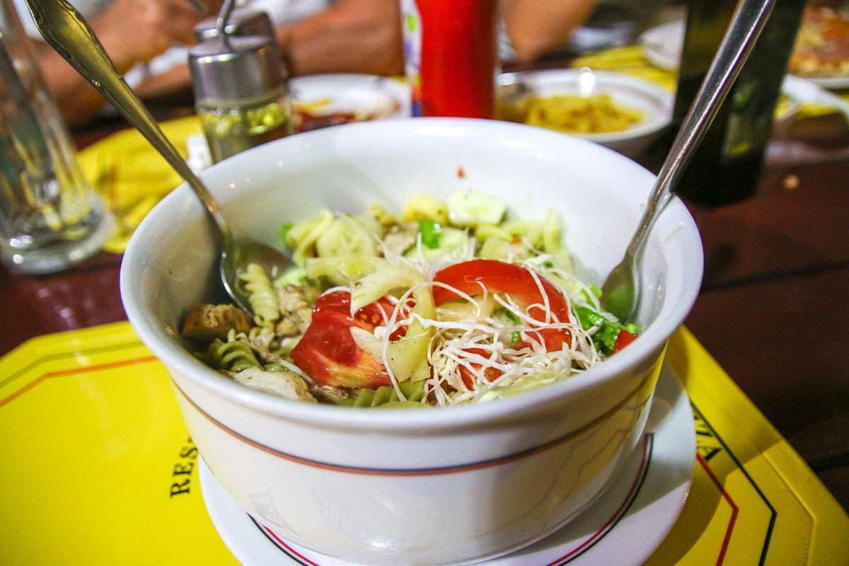 dieta nawakacjach salatka chorwacja kastel novi