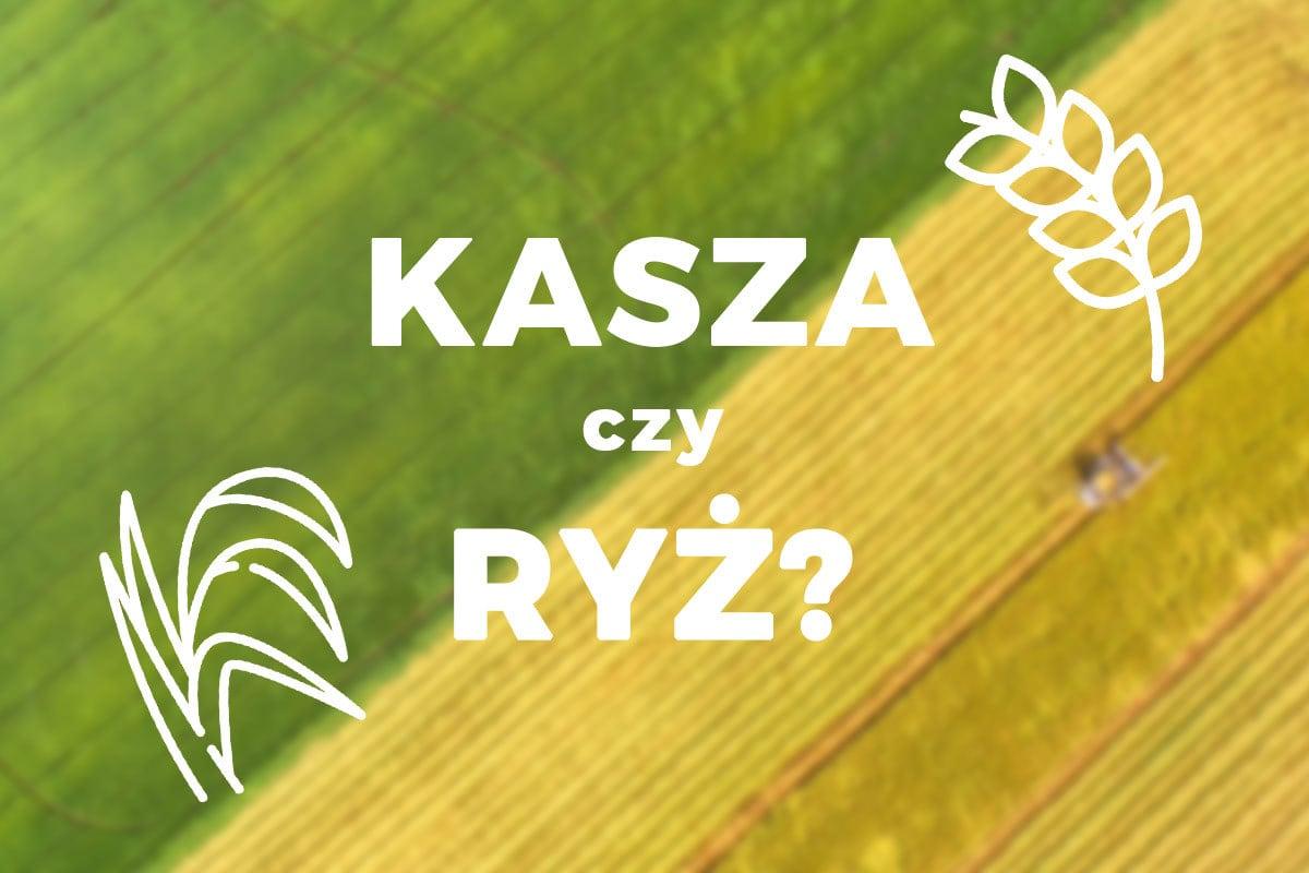 kasza czy ryz?