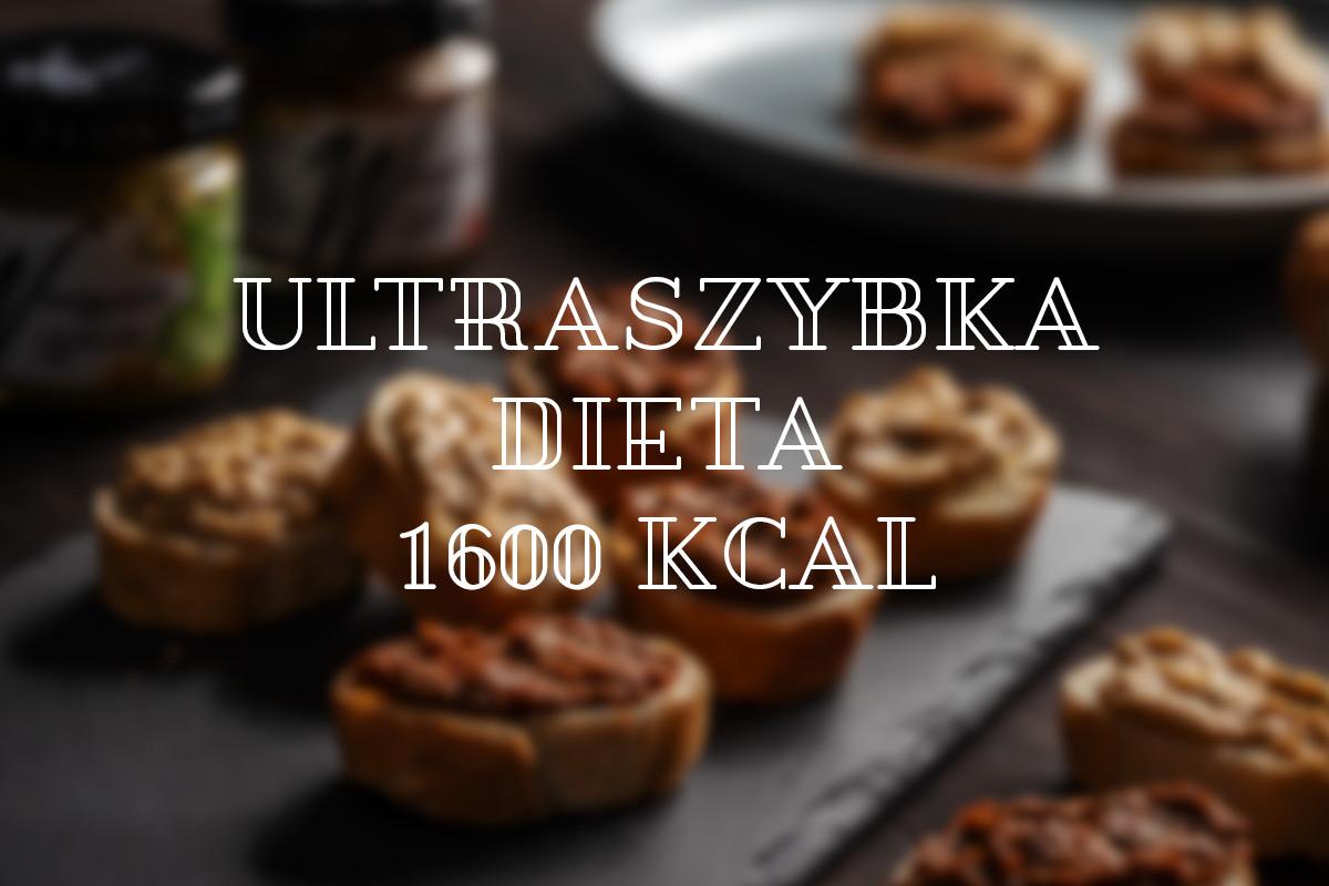 Dieta 1600 kcal efekty
