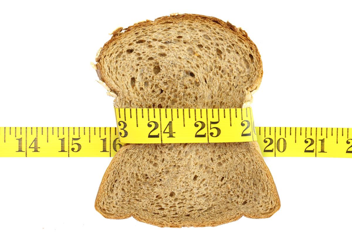 jedzenie chleba podczas odchudzania