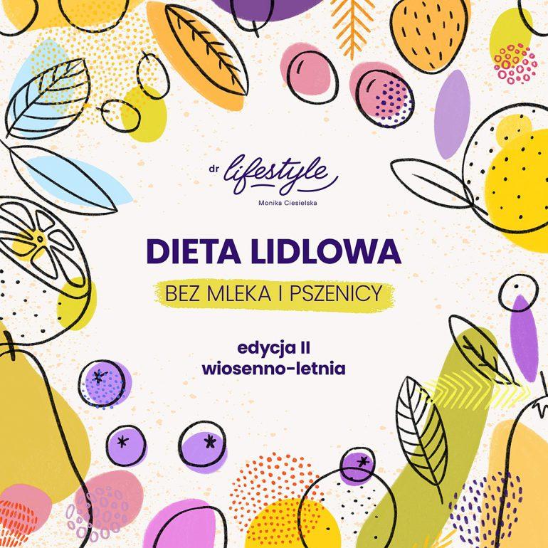 Dieta Lidlowa II - wersja bez mleka i pszenicy