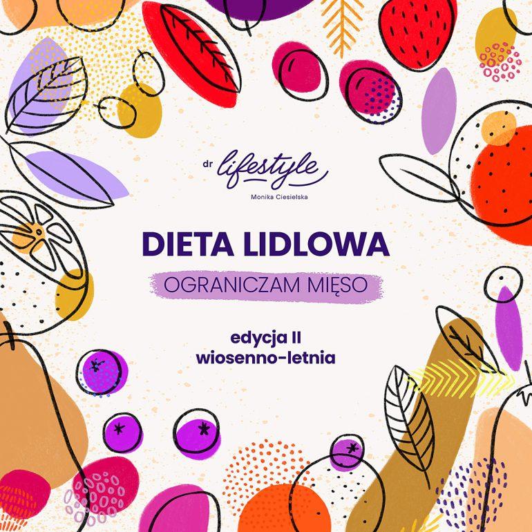 Dieta Lidlowa II - wersja ograniczam mięso