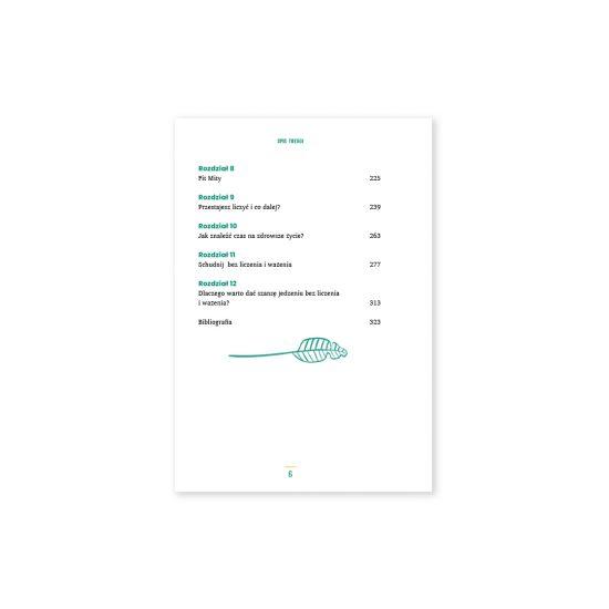 książka bez liczenia i ważenia spis treści 2