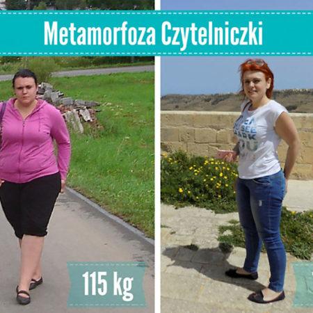 Metmorfozy Czytelników – 40 kilogramów robi różnicę!