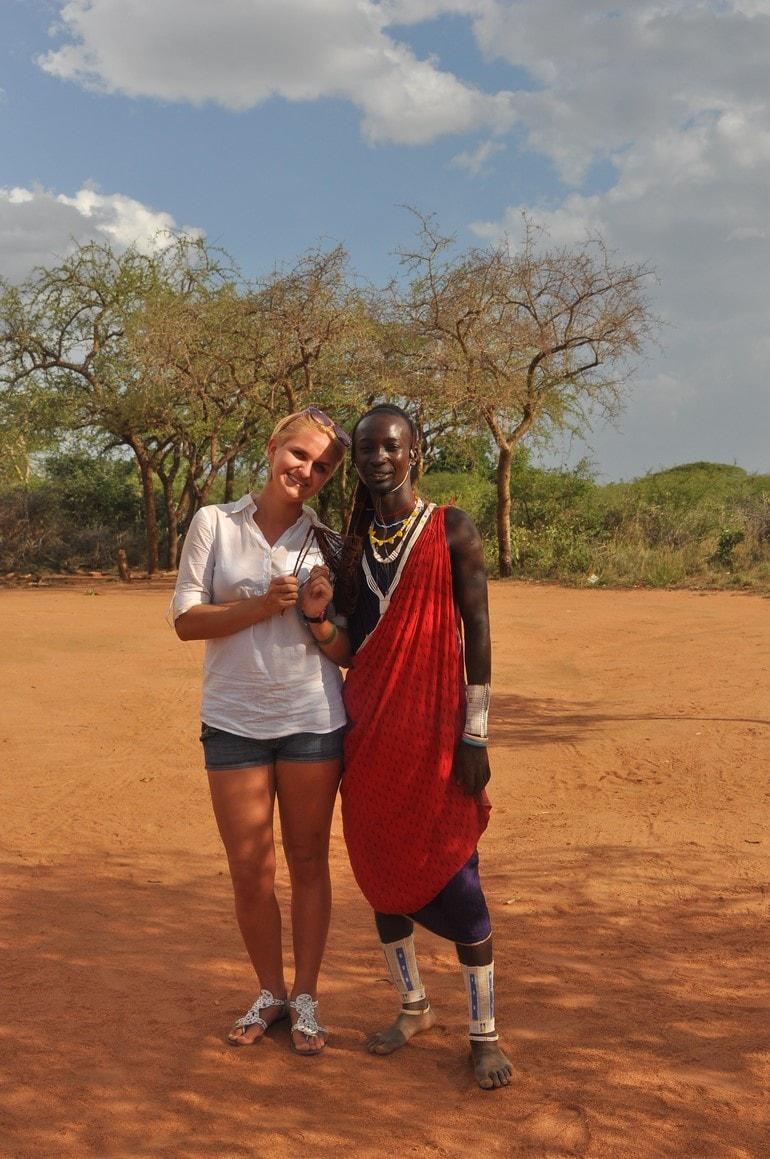 Wioska Masajów - Kenia zimą